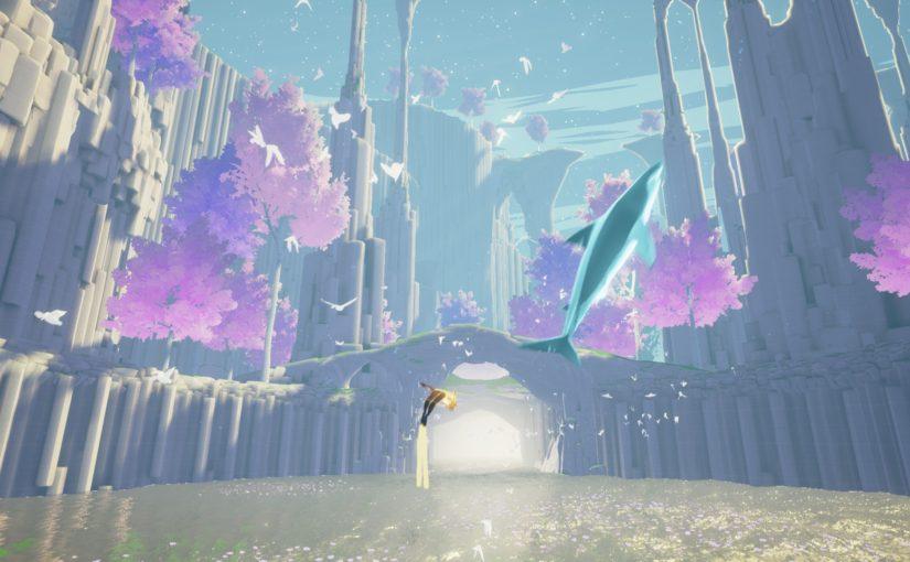 神秘的な水中世界を探索するゲーム「ABZU」をプレイしてみた!