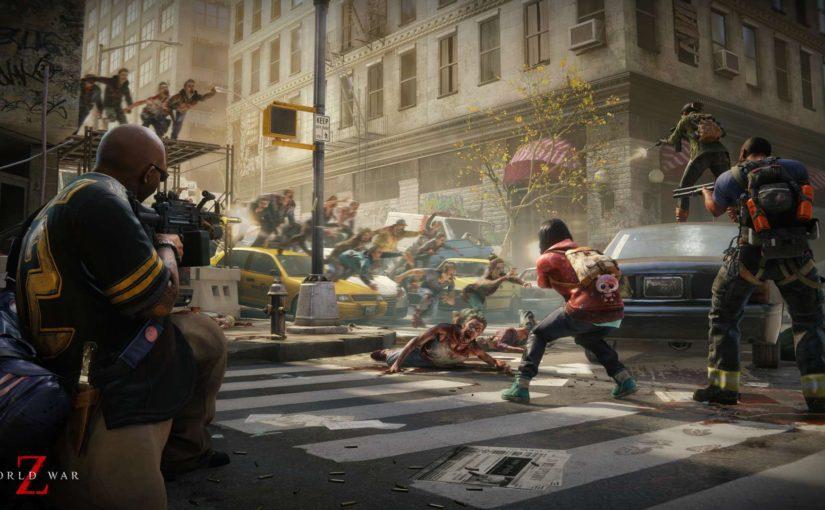 【新作ゲーム】押し寄せるゾンビの大群が恐ろしすぎる「World War Z」